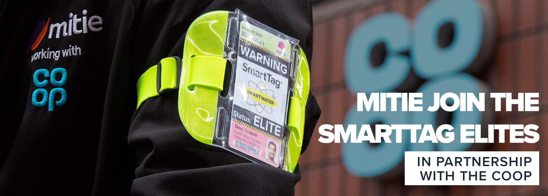 Mitie joins SmartTag Elites