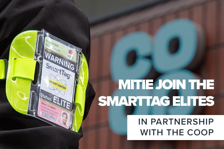 Mitie joins the SmartTag Elites